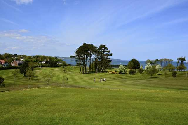 View of the 1st hole at Helen's Bay Golf Club