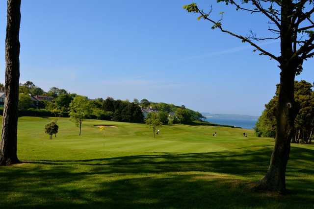 View of the 7th hole at Helen's Bay Golf Club