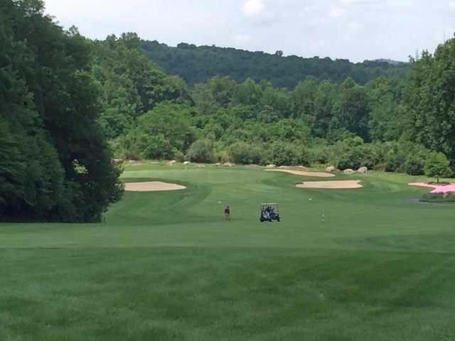 A view from the ladie's tee #17 at Golden Oaks Golf Club