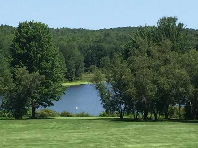 A view of hole #7 at Lakeland Golf Club