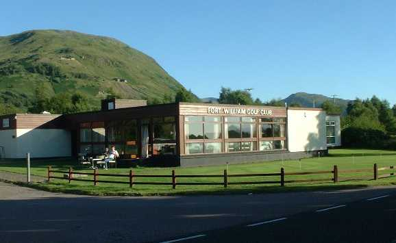 Fort William Golf Club: The Clubhouse