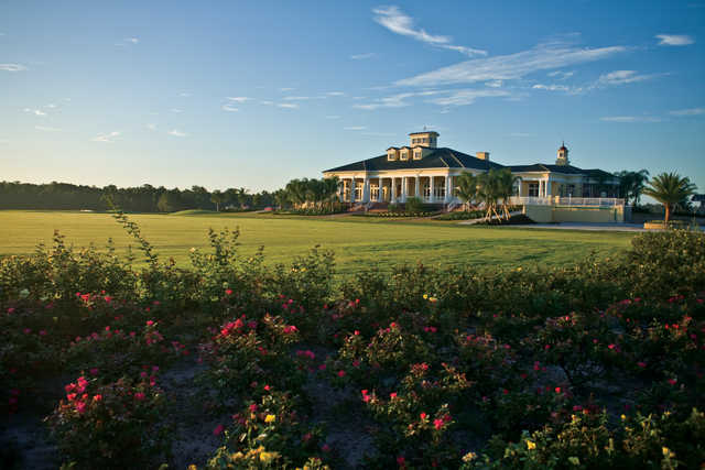 A view of the clubhouse at Providence Golf Club
