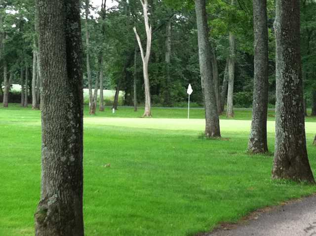 A view of hole #3 at White from Gilbertsville Golf Club