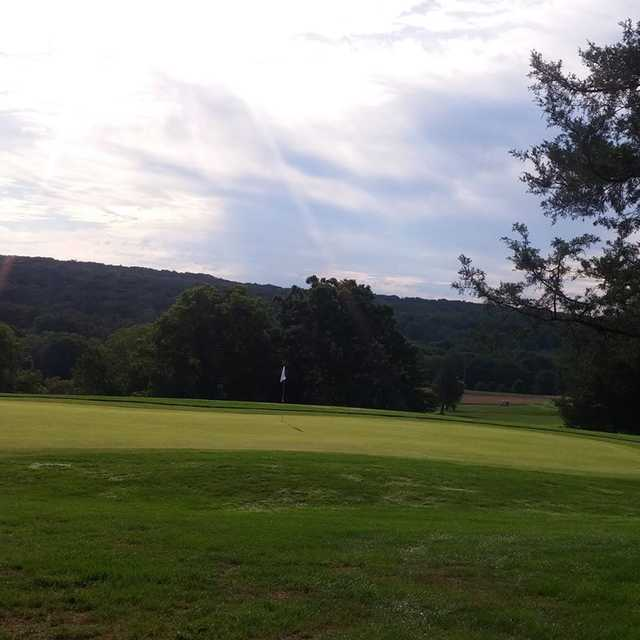 View from Macoby Run Golf Course