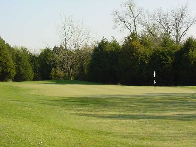 A view of hole #13 at St. Francois Country Club