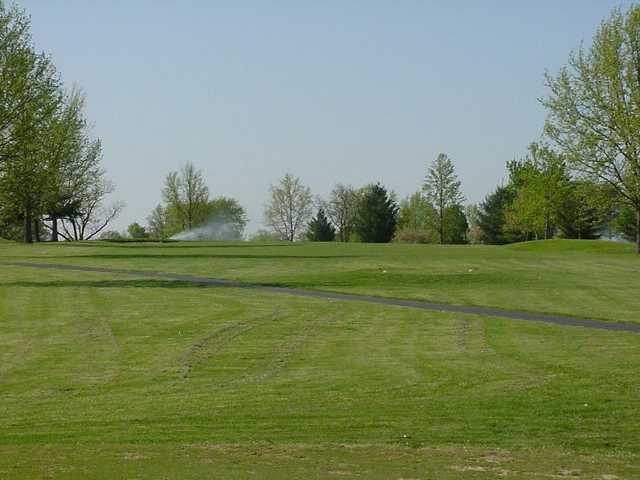 A view of fairway #18 at St. Francois Country Club