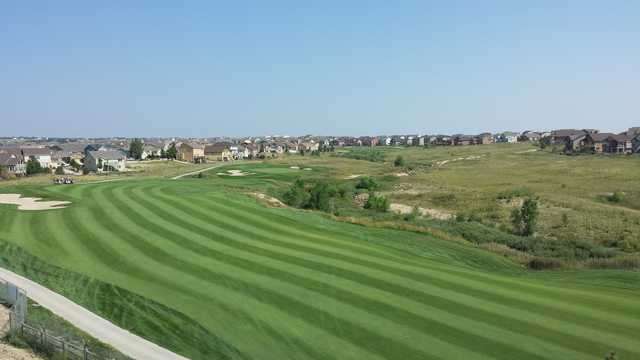 The par-4 11th hole at Antler Creek plays for 475yards