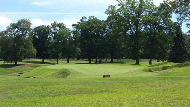 A view of hole #6 at Keney Park Golf Club