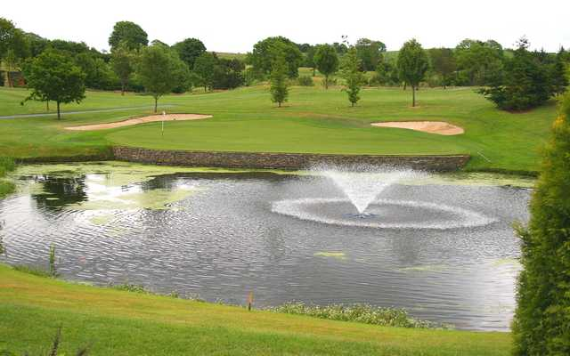 View of the 11th hole at Rockmount Golf Club