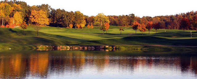 View from no. 17 at Deer Ridge Golf Club