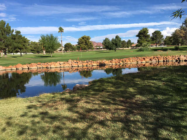 View of the 8th hole at Boulder City Municipal Golf Course