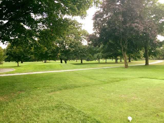 A view from a tee at Eisenhower Park Golf Course (Robert Temelkoski PA)