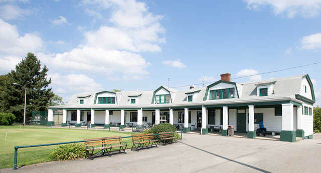 View of the clubhouse at Bob O'Connor Golf Course at Schenley Park/The First Tee of Pittsburgh