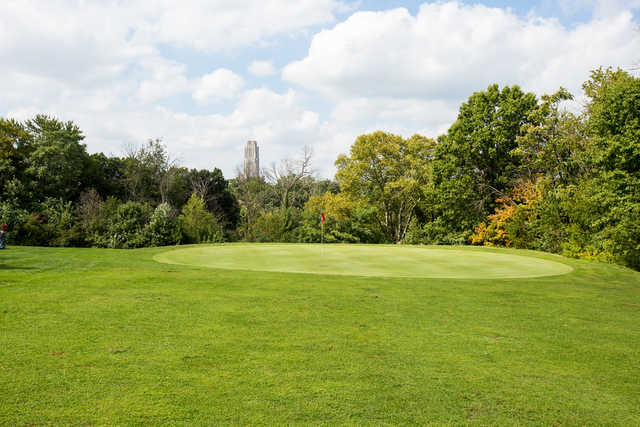 View of the 10th hole at Bob O'Connor Golf Course at Schenley Park/The First Tee of Pittsburgh
