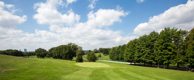 View of the 3rd hole approach from the Bob O'Connor Golf Course at Schenley Park/The First Tee of Pittsburgh