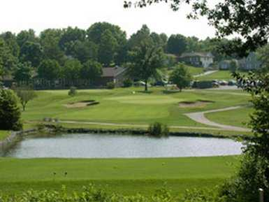 A view from Ballwin Golf Course