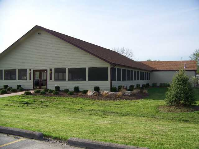A view of the clubhouse at Maple Creek Golf & Country Club