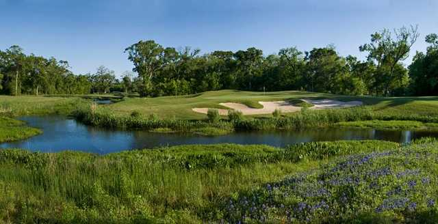 View of the 13th hole at Wilderness Golf Course