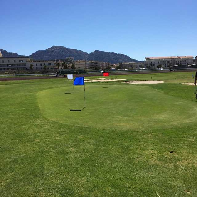 A view of the practice area at DailyGolf Marseille Borely
