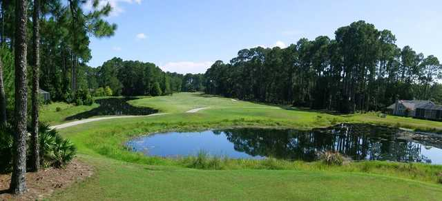 A view from tee #1 at Cypress Knoll Golf & Country Club
