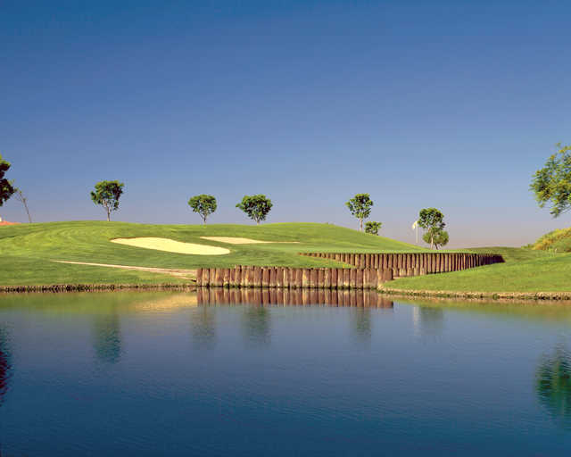 View of a green at Enagic Golf Club at Eastlake