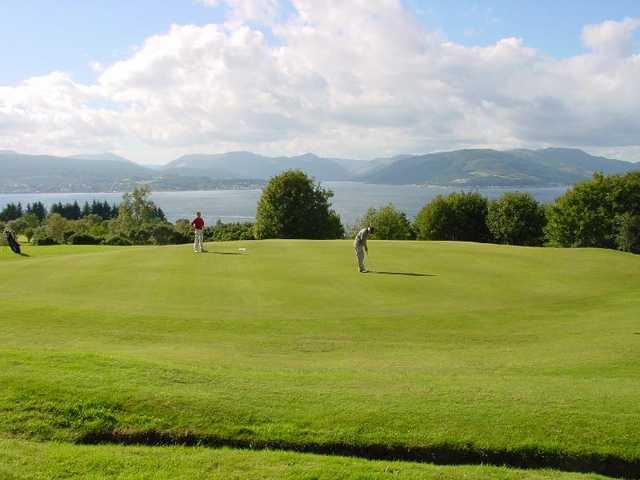Gourock Golf Club: 16th green