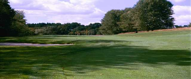 A view from a fairway at Meadowink Golf Course