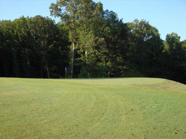 A view of hole #1 from Fox Chase Golf Course at Carroll Farms