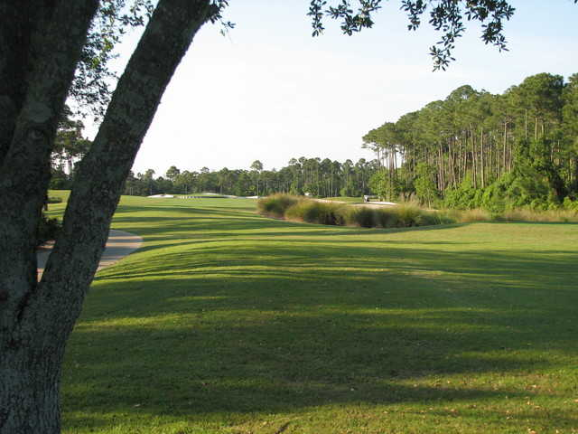 A view from 18th hole at Regatta Bay Golf & Yacht Club
