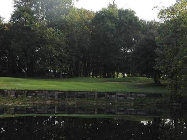 Approach on the Mardyke golf course