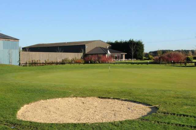 The 18th hole on Mardyke Valley Golf Course