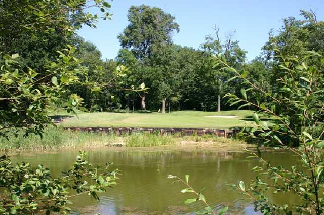 The 17th hole at Mardyke Valley