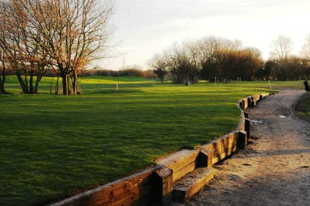 Tee box off the Mardyke Valley golf course