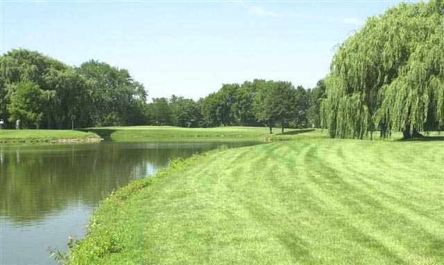 A view from River Oaks Golf Course