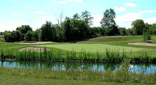 View of a green at Bradford Highlands Golf Club