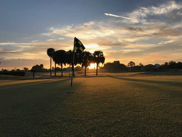 View from a green at Oaks National Golf Club
