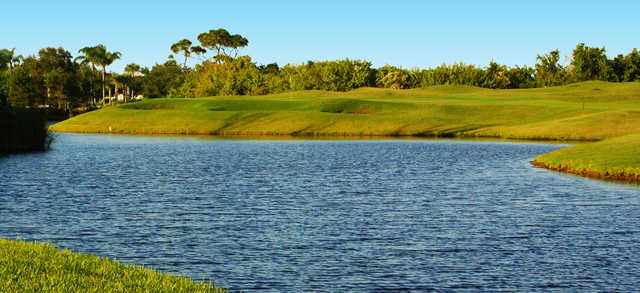 A view over the water from Baytree National Golf Links