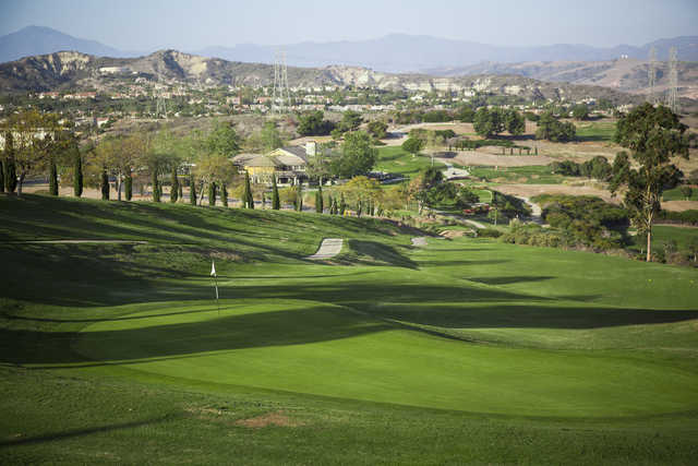 A view of a green at Bella Collina Towne & Golf Club