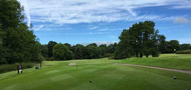 View of the 14th hole at Bedlingtonshire Golf Club