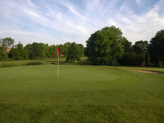 View of a green at Shepherd Hills Golf Club
