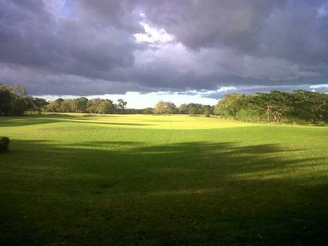 A view of a green at Guavaberry Golf & Country Club