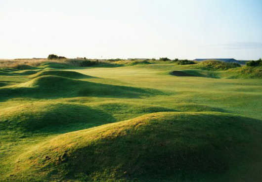 Tain Golf Club: 1st hole