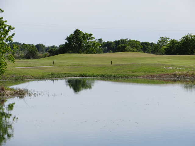 A view over the water from Rio Colorado Golf Course