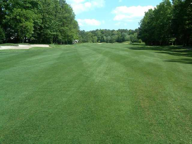 A view from a fairway at River Run Golf Course