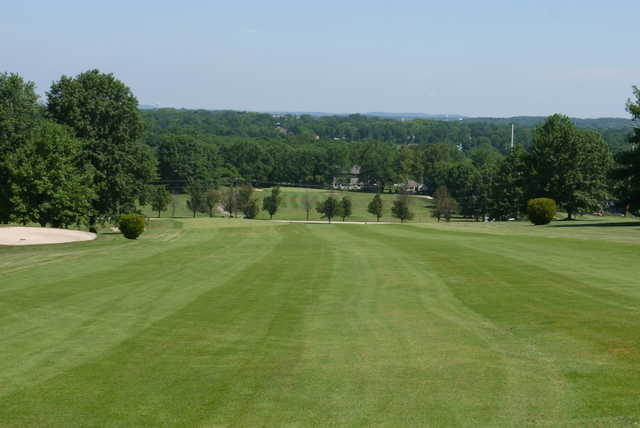 A view from fairway #5 at Pickering Valley Golf Club