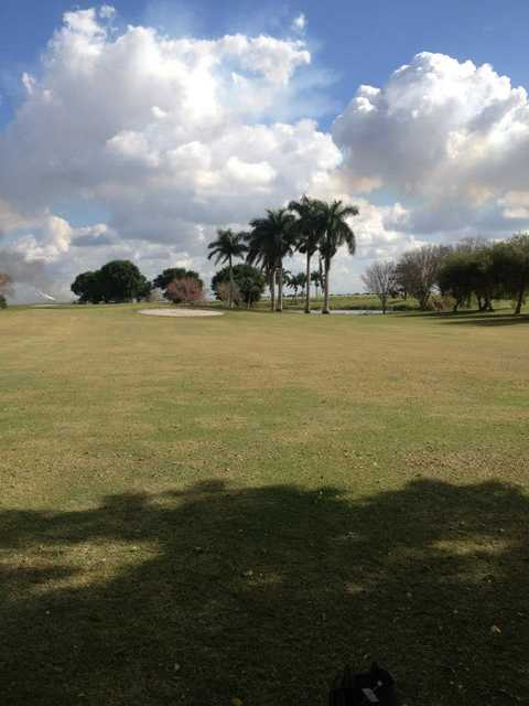 A view from fairway #10 at Belle Glade Municipal Golf Club