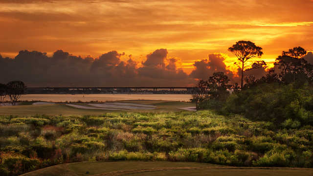 A view from a tee at Floridian (Dave Sansom & Murray Cohen)
