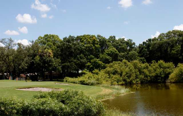 A view of a hole at Babe Zaharias Golf Course