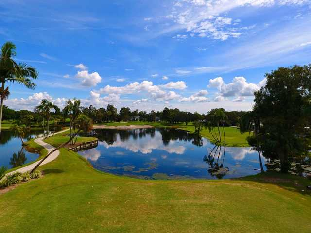 A sunny day view from Bradenton Country Club