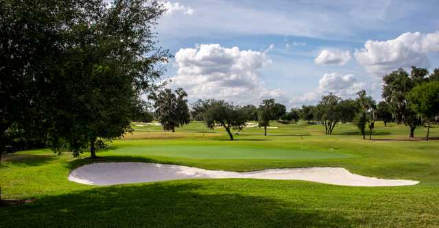 A view of a hole at Golden Ocala Golf & Equestrian Club